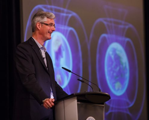 David Maginley at the National Radiation Conference, Halifax