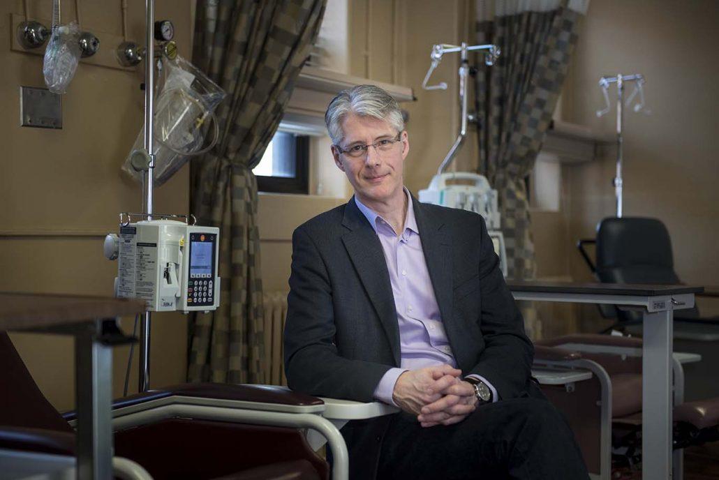 David Maginley in Hospital