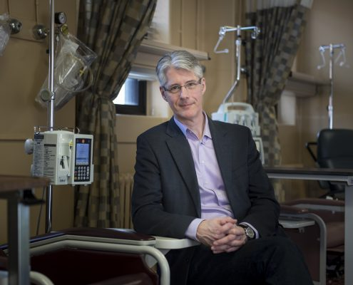 David Maginley at Queen Elizabeth II hospital, Halifax