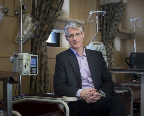 David Maginley at Queen Elizabeth II hospital, Halifax
